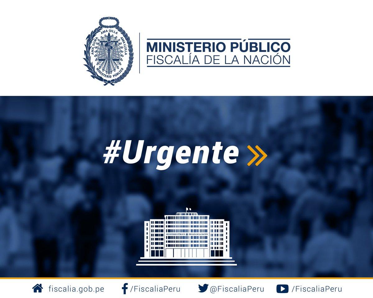 #Urgente | El Ministerio Público, a través de la Unidad de Cooperación Judicial Internacional, informa que el expresidente, Alejandro Toledo Manrique, fue arrestado esta mañana por mandato de extradición, en Estados Unidos.
