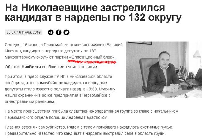 На Николаевщине с огнестрельным ранением обнаружено тело кандидата в нардепы, - Нацполиция - Цензор.НЕТ 4944