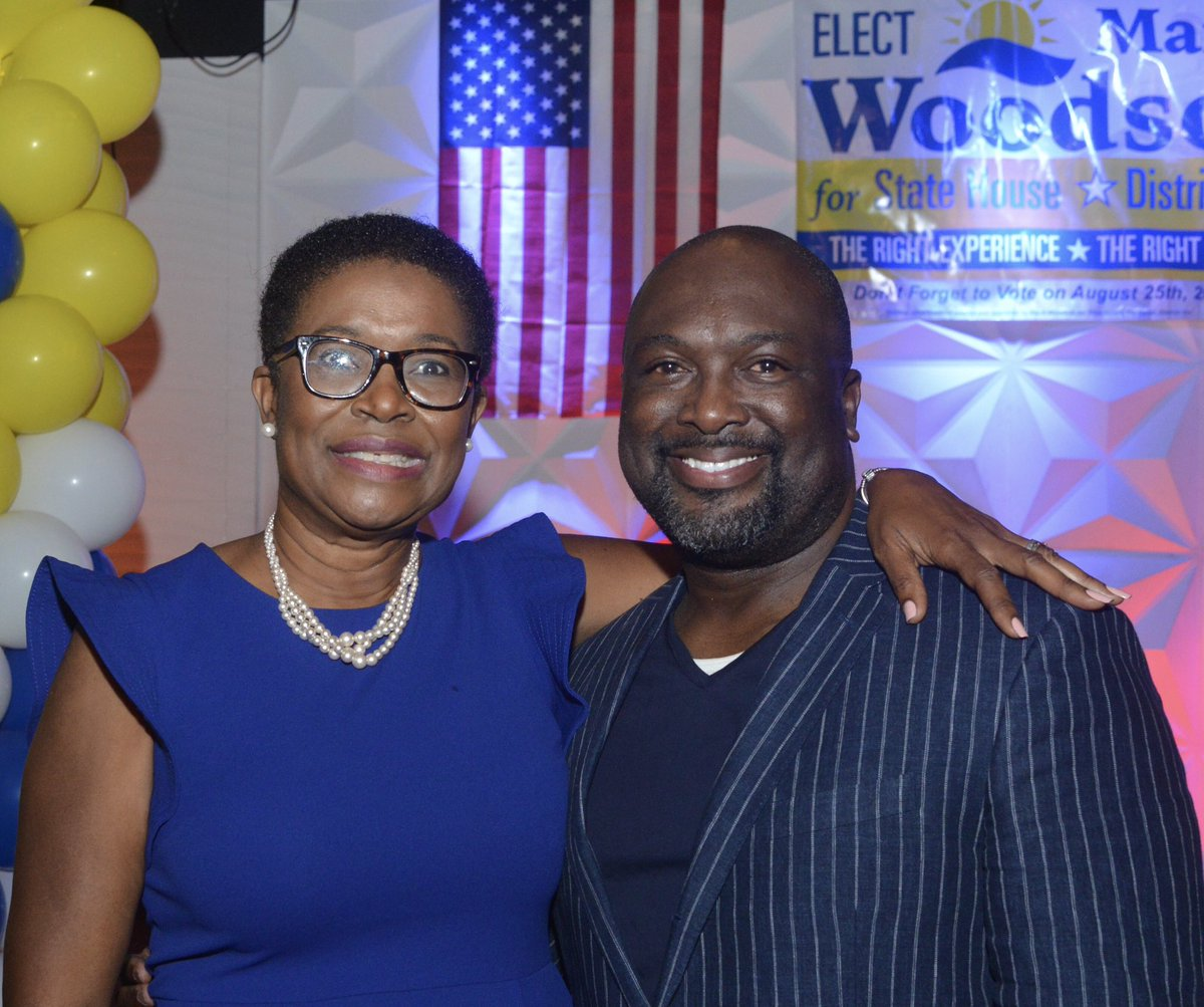 Thank you, Prof. Ted Victor and former Mayor Dr. Smith Joseph!   #TeamWoodson #ForThePeople