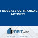 Image for the Tweet beginning: Kimco Reveals Q2 Transaction Activity