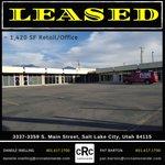 Image for the Tweet beginning: #leased #retailleased #officeleased #SaltLakeCityretail #SLCoffice