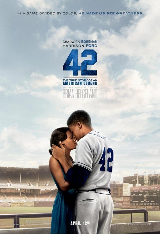 """Definitely been a fan since her work with Chadwick Boseman in the Jackie Robinson drama """"42"""" #puretalent<br>http://pic.twitter.com/E1CGpzDP4c"""