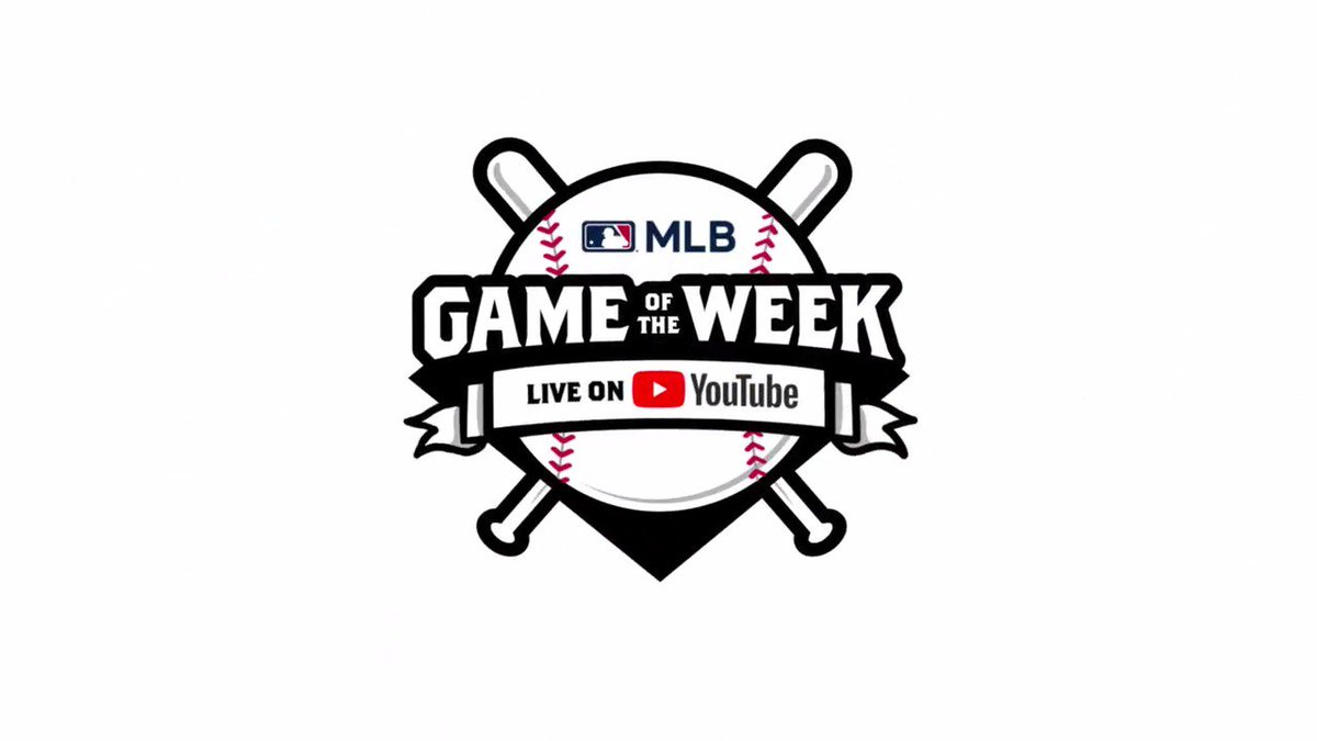 Starting this week, you can watch live @MLB games for FREE on YouTube! Subscribe now at http://youtube.com/mlb  to catch all the action and set your reminders for upcoming games.