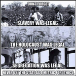 Image for the Tweet beginning: Is it ok to……enslave blacks