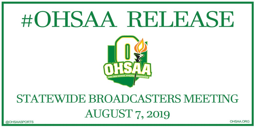 #OHSAA and OAB to Host @Reds Announcer Tommy Thrall and Statewide Broadcasters Aug. 7  http:// ow.ly/OMqG50v2aFE    <br>http://pic.twitter.com/A88RBkU9VT