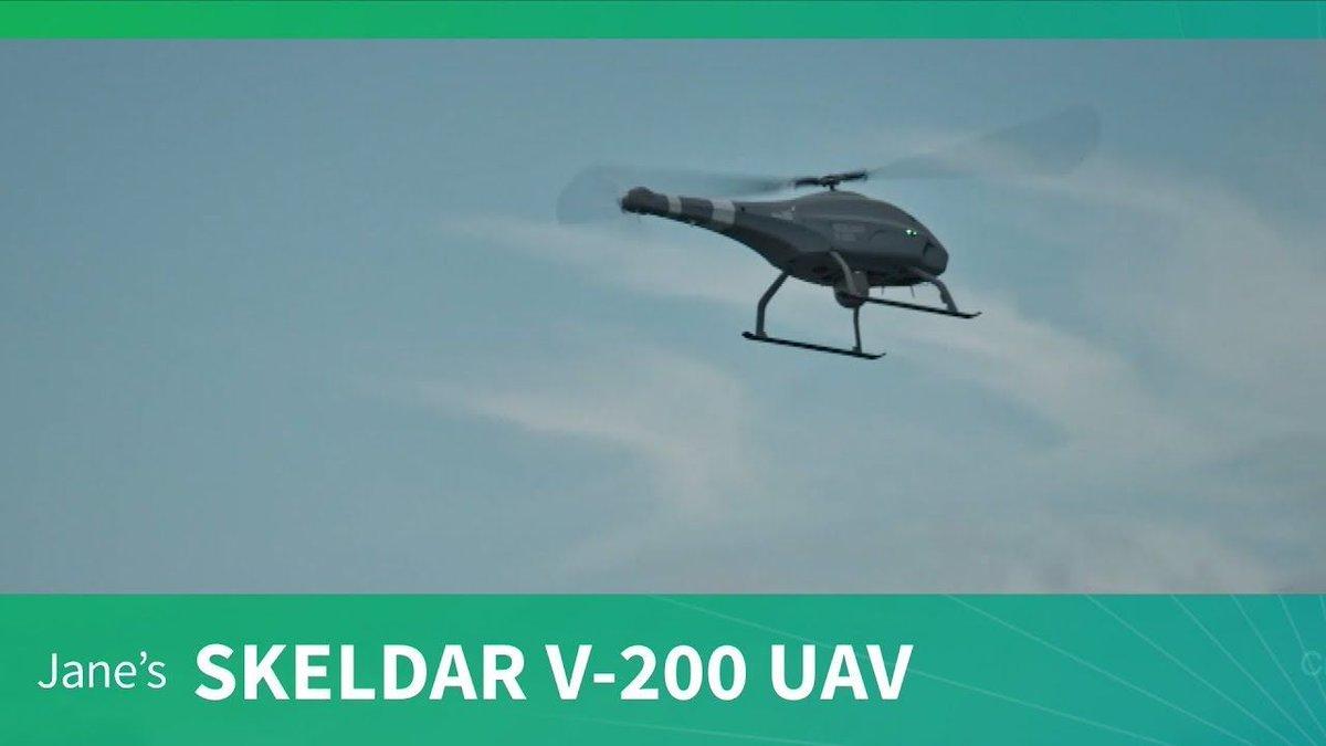 Paris Air Show 2019: Skeldar V-200 unmanned aerial vehicle (UAV) program update https://buff.ly/2JAFPXE #ParisAirShow #parisairshow2019