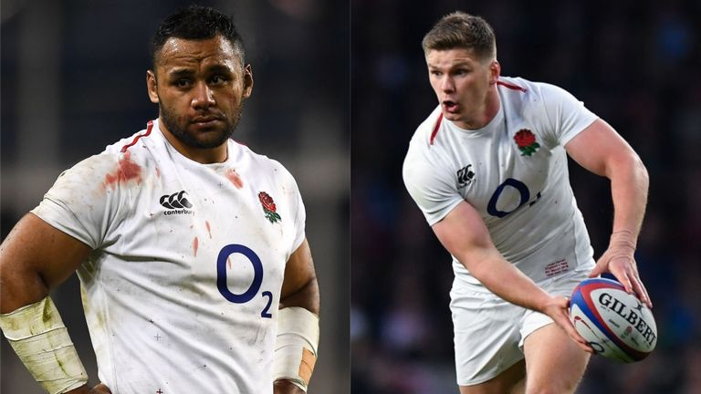 test Twitter Media - Farrell & Vunipola: 2015 failure drives us 🏉  🗣️ Owen Farrell and Billy Vunipola believe England's 🏴 failure at the Rugby World Cup in 2015 will drive them on to to success in Japan.  👉More here: https://t.co/oT1BsApk6U https://t.co/WJrBUBsbT7