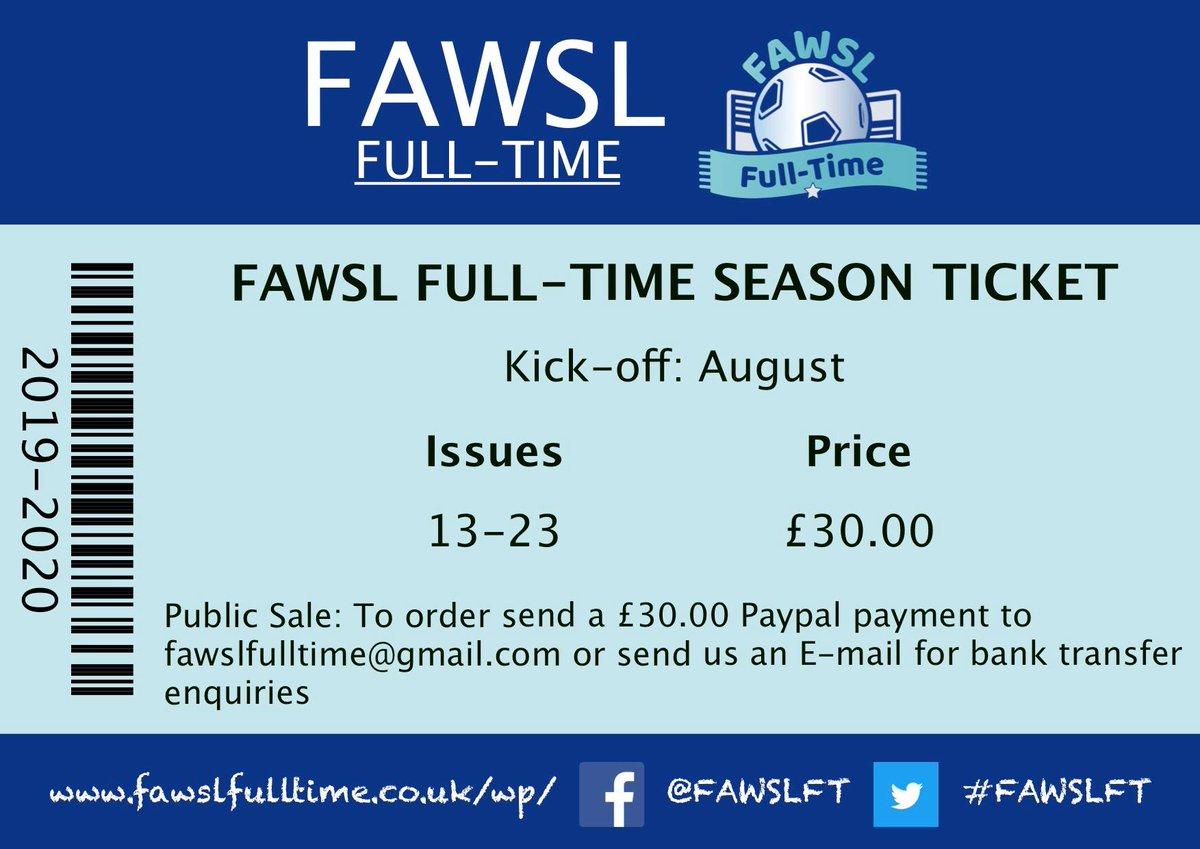 FAWSL Full-Time (@FAWSLFT) | Twitter