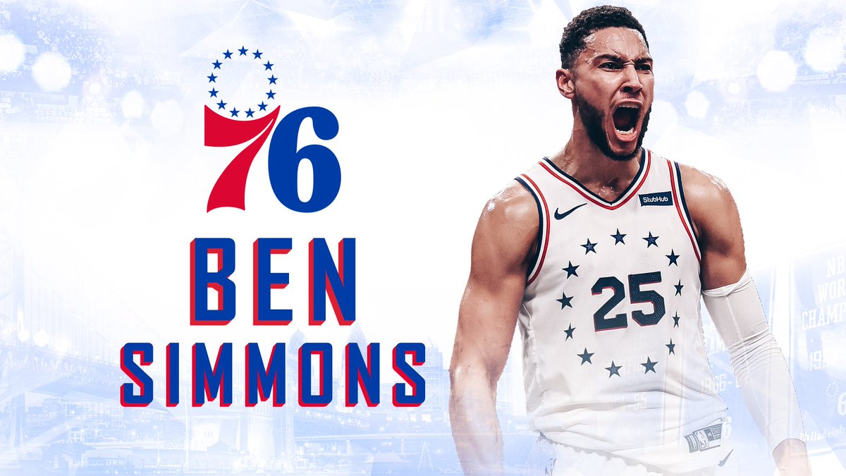 One of our leaders.  We have officially signed @BenSimmons25 to a contract extension! #HereTheyCome