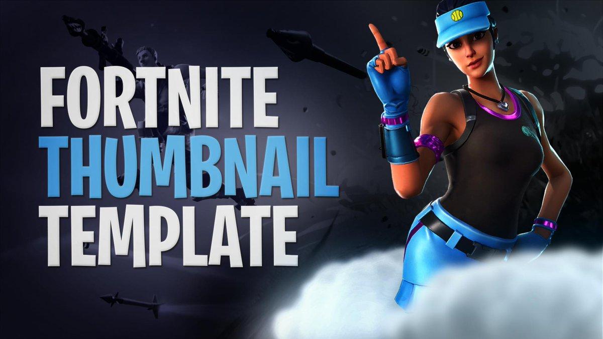 Got a free Fortnite thumbnail template! DM Me if you want it