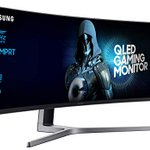 "Image for the Tweet beginning: Samsung LC49HG90DMUXEN 49"" Curved 1ms"