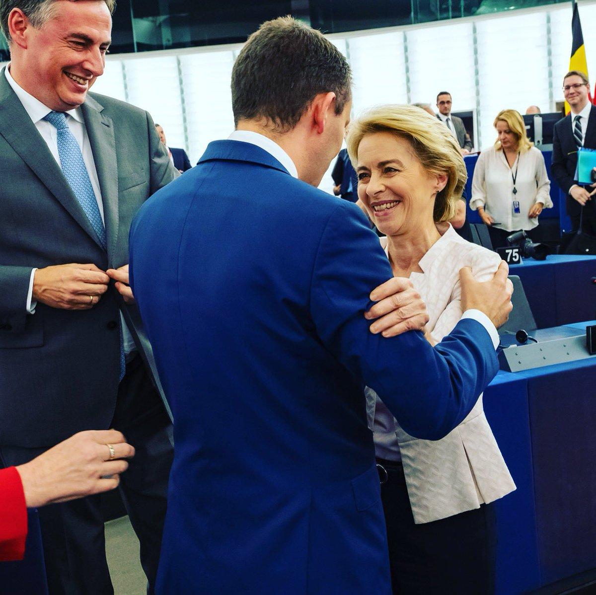 Congratulations, Ursula von der Leyen! Your election is good news for #europe and it is an inspiration for all the women. #womenempowerment @vonderleyen @epp @eppgroup