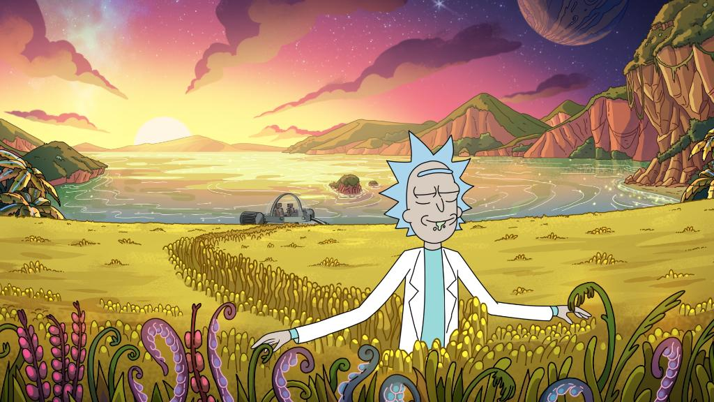 Here are the first two images from season 4. Feel free to share your plot theories below. @RickandMorty #SDCC2019 <br>http://pic.twitter.com/FpgBvQDcIa