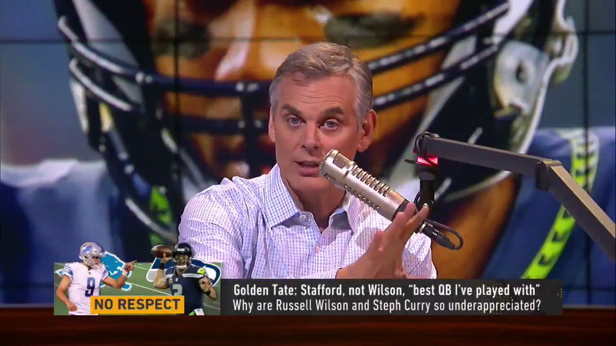 Russell Wilson is the Stephen Curry of the NFL @ColinCowherd explains