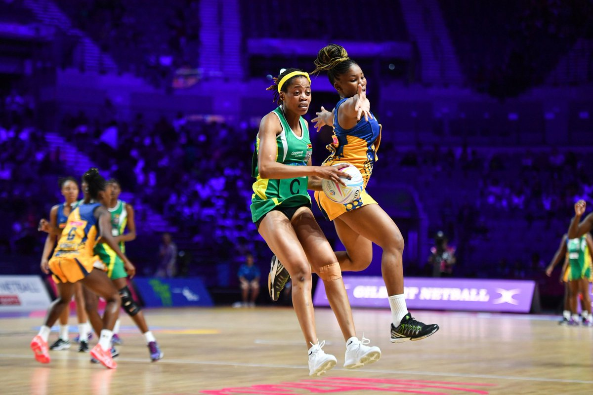 13th world ranked #ZimGems have so far this #NetballWorldCup2019, their DEBUT: Wins: World # 8 Northern Ireland World # 11 Barbados World # 18 Sri Lanka Losses : World # 1 Australia World # 4 New Zealand  Up next on Thursday: World # 9 Malawi #GoGemsGo #NWC2019