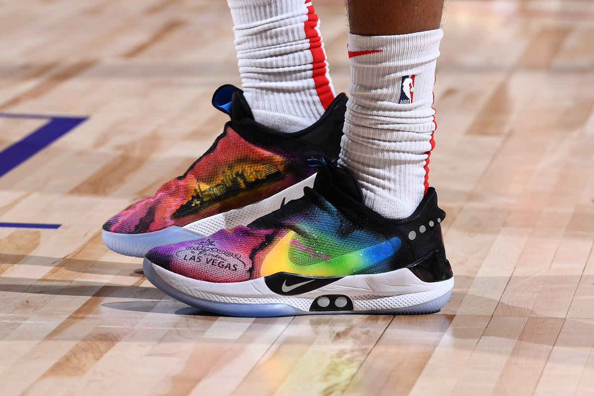 Troy Brown Jr. brought the heat to Summer League 🔥🔥🔥  #NBAKicks   @Troy_Brown33