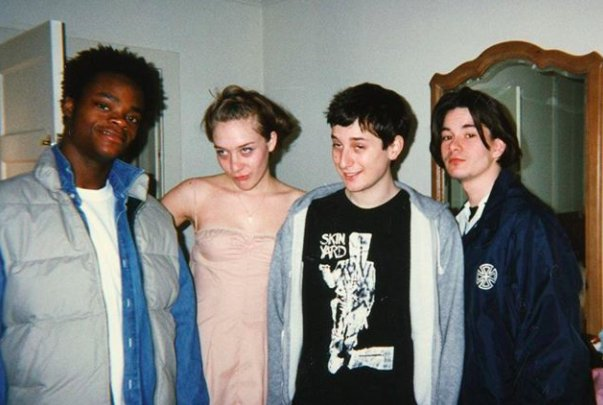 Harold, Chloë, Harmony and Justin.