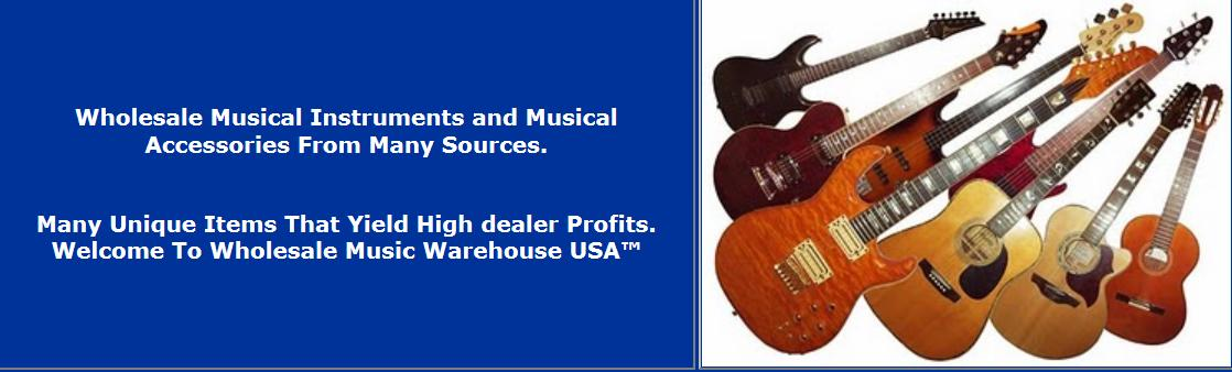 Wholesale Music Gear Dropshippers Distributors