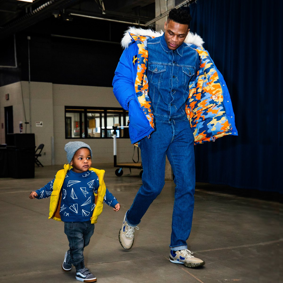"""""""I have a great deal of respect for Russell and there is no way to adequately describe our appreciation for what he has meant to Oklahomans. His legacy here is immense, and he will be honored by the team for all he has done. """"  -Thunder Chairman Clay Bennett"""