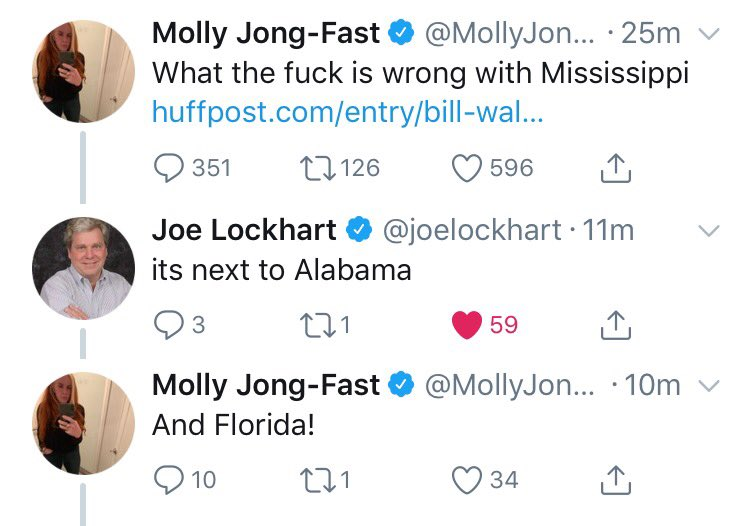 This wins Twitter today 😂😂 Thx @MollyJongFast & @joelockhart