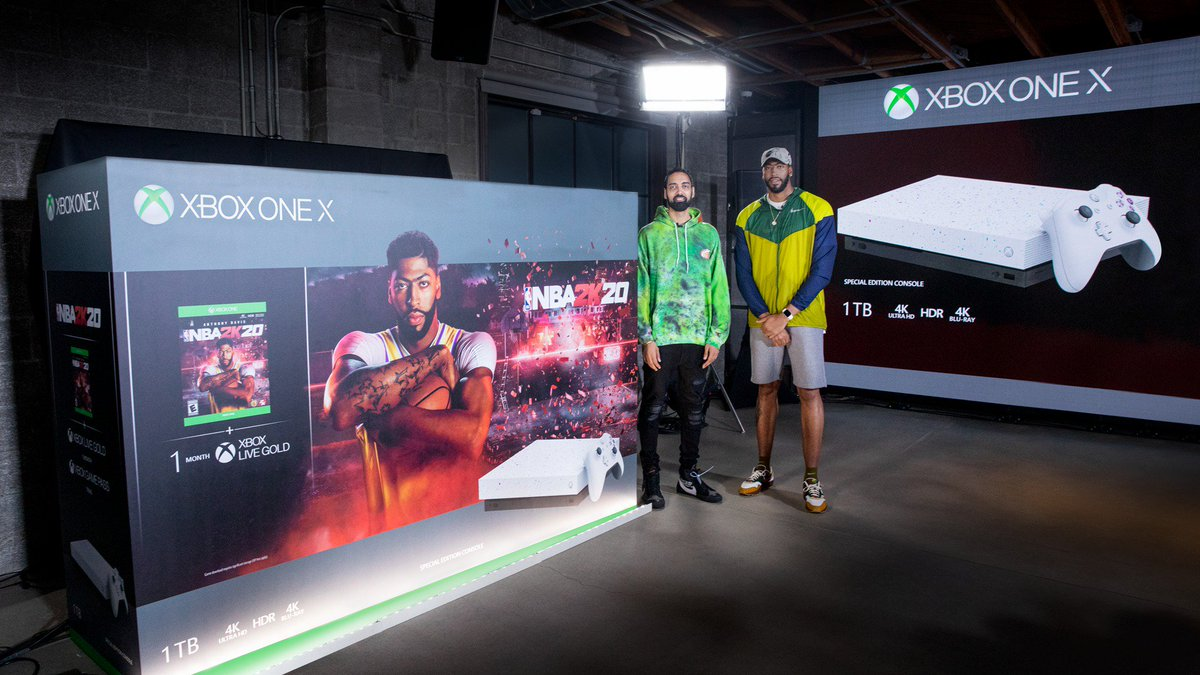 The next chapter gets a new look. The all-new #NBA2K20 Xbox One X bundle featuring a special edition console introduced by @AntDavis23 drops September 6.  🎮: https://xbx.lv/32tkdDP