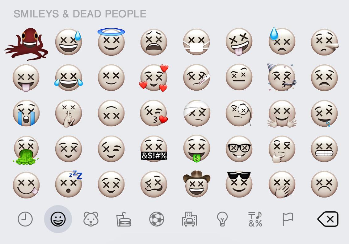 Wednesday's set of emojis are positively killer. #WorldEmojiDay #MeetTheAddams