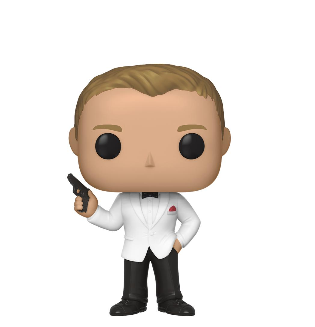 Exclusive to 007STORE, a Funko Pop! Vinyl figure of Daniel Craig's James Bond #007 from SPECTRE! Preorder now at https://bit.ly/2LohyGq