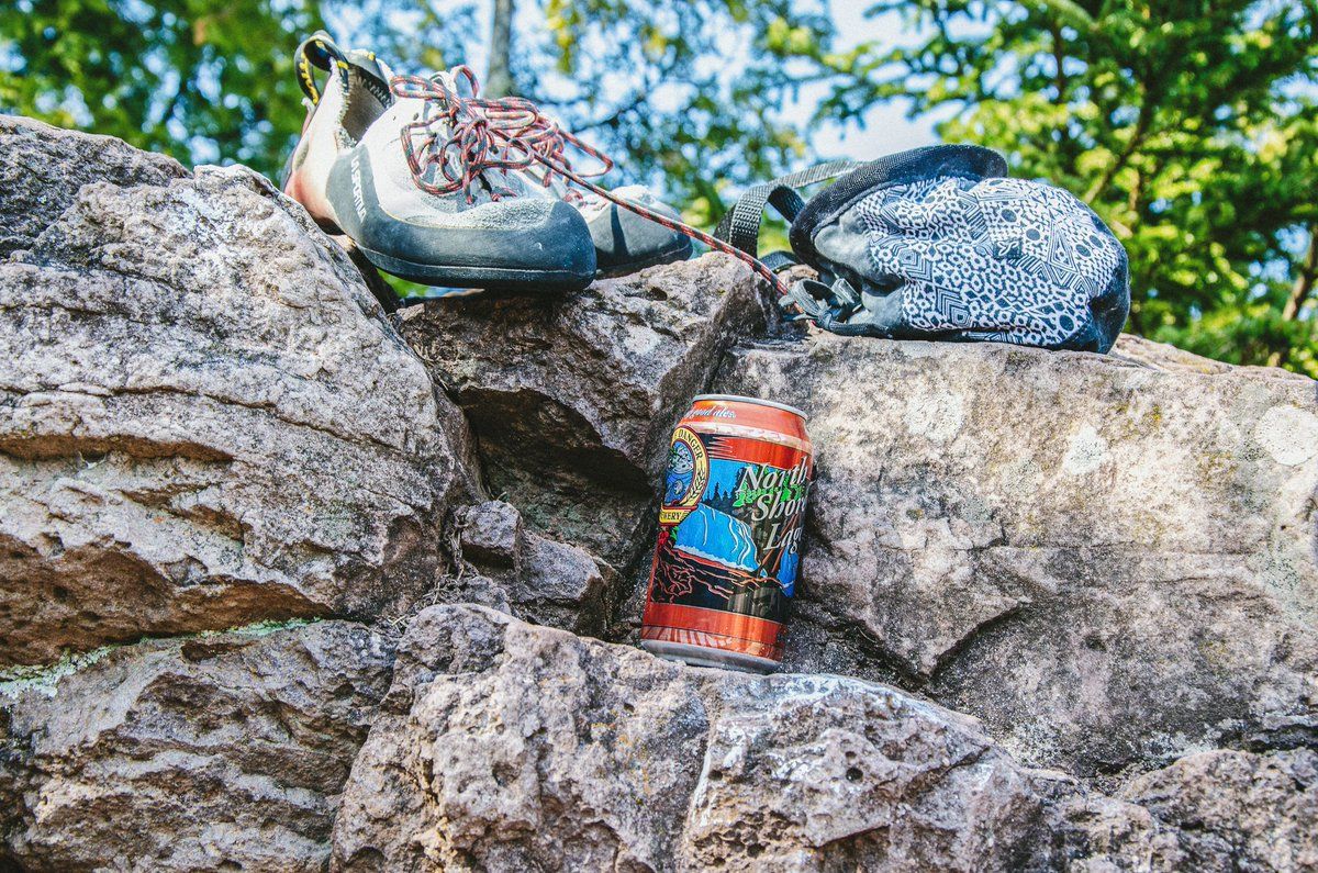 Grab your gear and get out there, friends. 🍻 There are SO MANY fun activities to do on the North Shore this time of year. #sendit #castledangerbrewery #craftbeer #northshore #minnesota #northshorelager