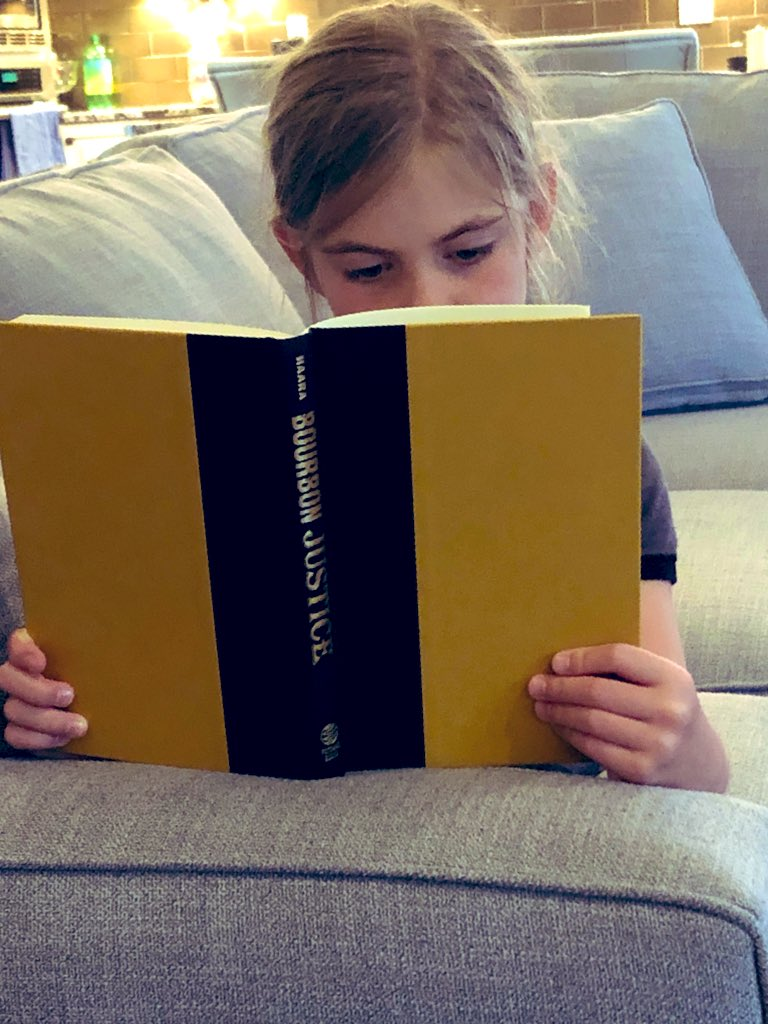 The sky is the limit for this one. She's going to change the bourbon world.  #SummerReading  #FavoriteNiece  #BourbonJustice  <br>http://pic.twitter.com/eHbQBn1Qtt