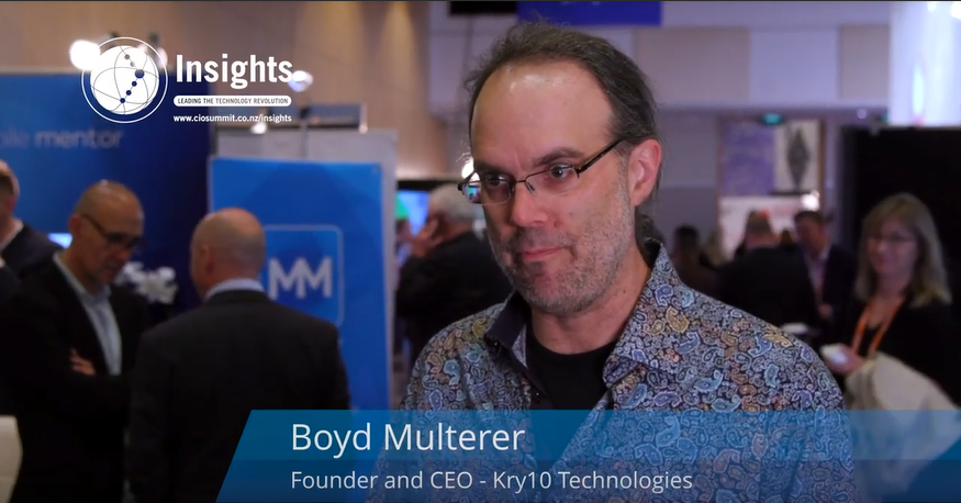 CEO & Founder of Kry10 Industries, @BoydMulterer discusses the need for fundamental changes to technologies being used, to ensure they are #secure and #future ready. These changes will better place the industry in the next five years. Hear more from Boyd: https://buff.ly/2LPHxG9