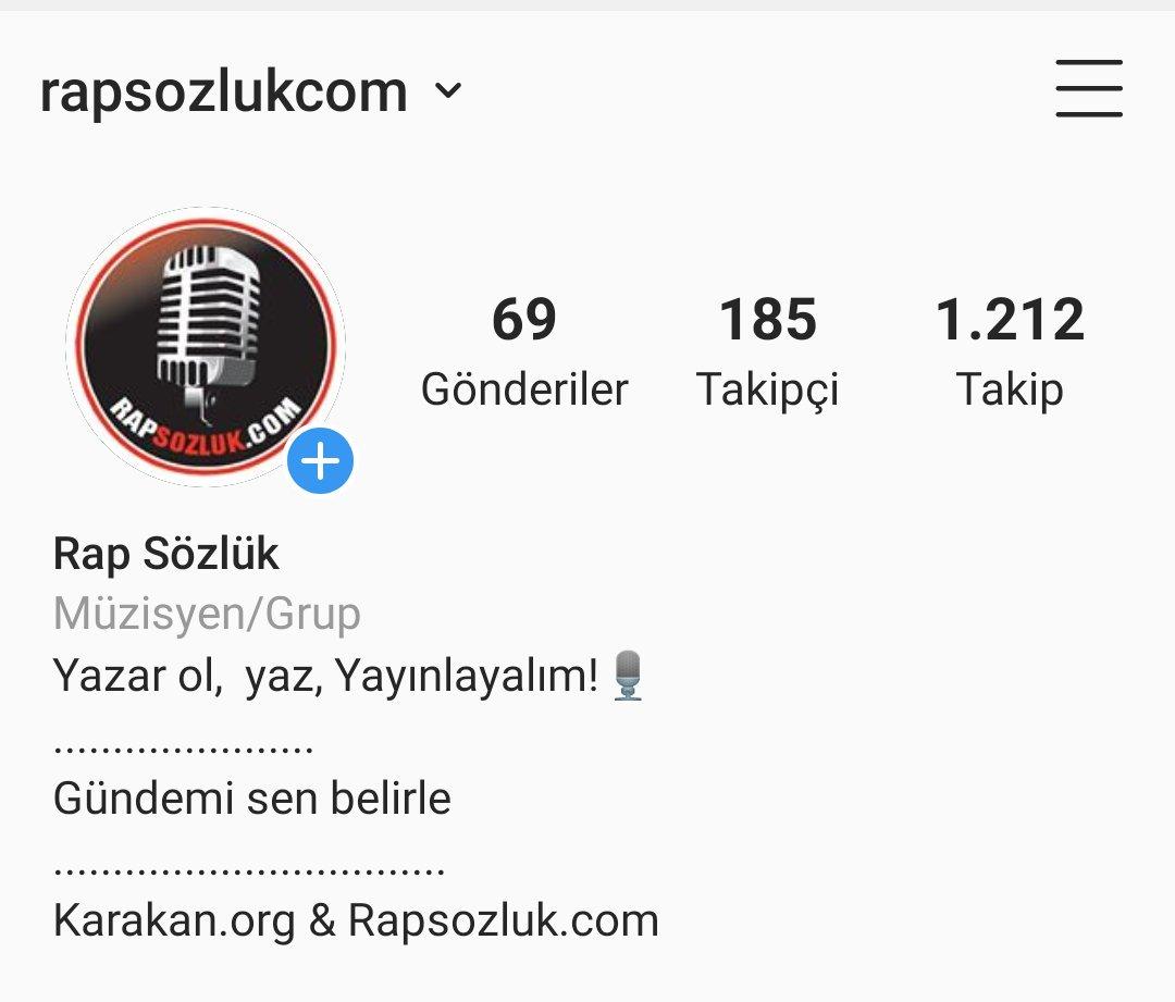 #instagram hesabımız sitelerimizle ilgili gelişmeleri buradan takip edebilirsiniz  #karakan #rapsozluk #rap #rapmusic #rapmüzik #rapper #mc #hiphop #underground #sagopa #kajmer #ceza #normender #patron #hayki #ayben #rope #ezhel #sancak #taladro #arsızbela #hidra #benfero