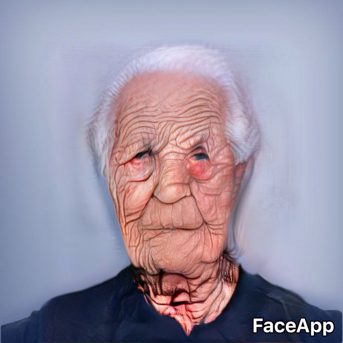 Ran my face through FaceApp a few times and it's not looking good if I make it to 140 years old