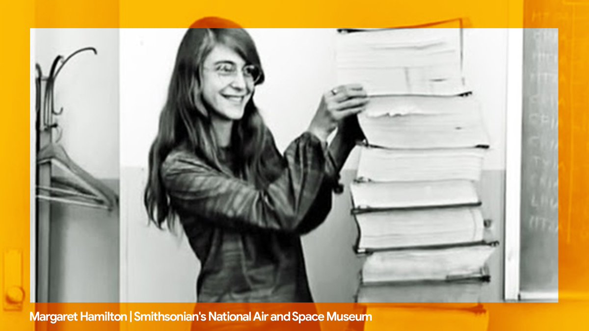 "#Apollo50th fact #3: Funny you should ask…""FLT,"" a phrase coined by Margaret Hamilton and her team that's short for ""Funny Little Thing,"" refers to minor bugs in the Apollo 11 programming. → http://goo.gle/32u8FAb"