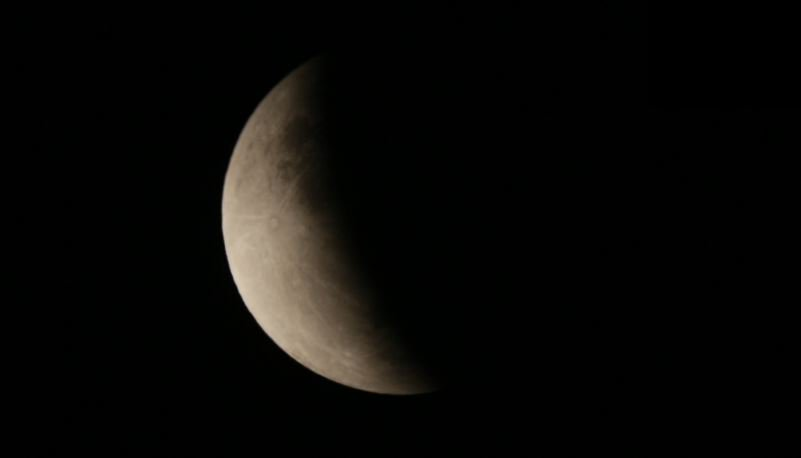 #Perth #WA A shot of the Partial Lunar Eclipse at its maximum. We're doing the live stream for @timeanddate which you can watch here:  https://www.timeanddate.com/live/   #LunarEclipse2019 #LunarEclipse #PartialLunarEclipse #spacenews #space #perthnews #perthevents #perthlife #perthtodo