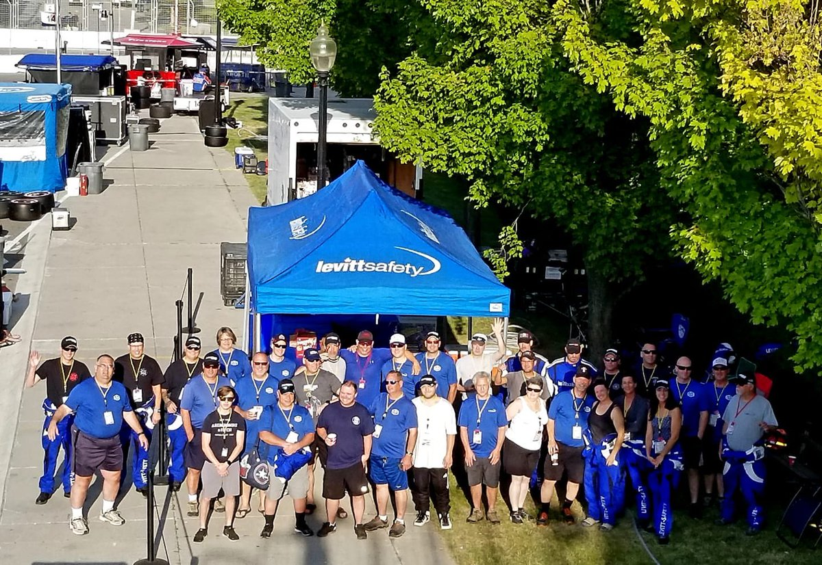 A big thank you to Levitt-Safety for providing their Fire Protection Crew and all of the emergency equipment needed for a fun, successful and safe weekend! #safety #emergencyservices 🧯
