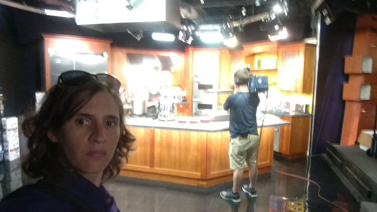 Bringing back my studio days.@69News @Joy_Howe @JimVaughnWFMZ #foodtruck