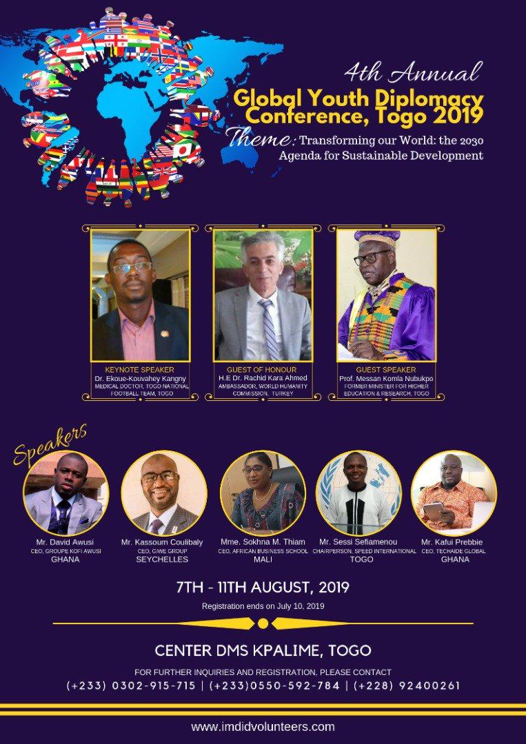 @SpeedInter1  #SPEEDINTERNATIONAL est au rendez-vous de cette grande conférence des jeunes.  @Z_Tiemtore @tebeguy @AdjoEdwige @OJoelameyou @odaunrec @UNOWAS @FirminSef @Lacroix_UN @SamSessou @Rodolphe1989 @REPAOCReseau @FabioHLOMADOR https://t.co/xPLAdRGVur