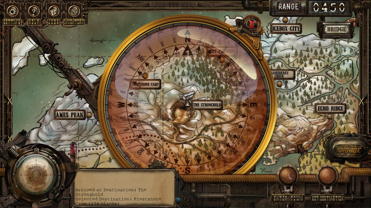 Explore a massive Wild West #steampunk world in #indiegame RPG Age of Grit!  Coming out soon! #rpgtuesday  Wishlist: https://t.co/oLI2tfLClp