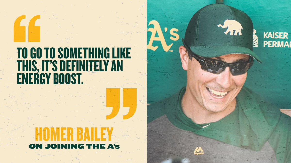 Bailey: Joining contending A's an 'energy boost'