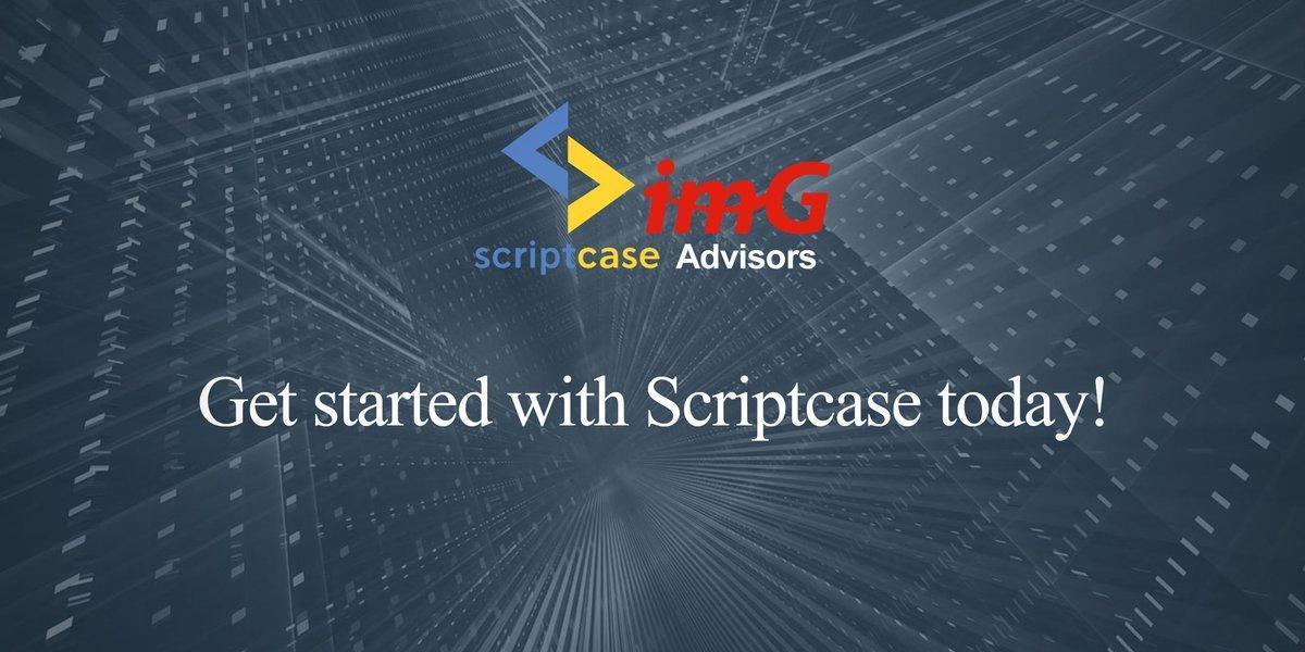 Get started with @ScriptcaseI today!  #Business #Intelligence #Solutions #Fast #Easy #WebDevelopment #PHP #Simple #Secure #HTML #JavaScript #Coding #Developer #WebDesigner #Website #DigitalMarketing