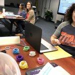Image for the Tweet beginning: The Jefferson Kindergarten Team learning