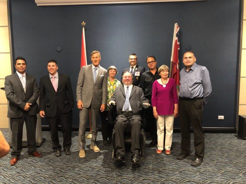 Today I had the pleasure of announcing more candidates who will hold the banner of the @peoplespca in Manitoba.   J'ai eu le plaisir d'annoncer aujourd'hui d'autres candidats qui porteront l'étendard du @ppopulaireca au Manitoba.