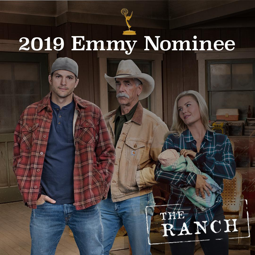 Congrats to The Ranch on the third consecutive #Emmy nomination for Outstanding Cinematography for a Multi-Camera Series 🎥