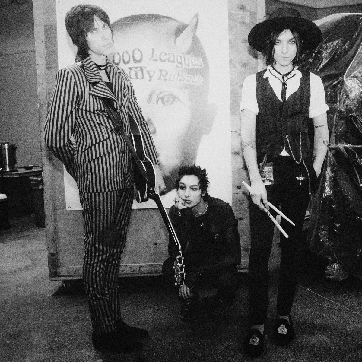 Palaye Royale On Twitter Twins Of Evil Marilyn Manson Rob Zombie With Support From These Three Lost Boys