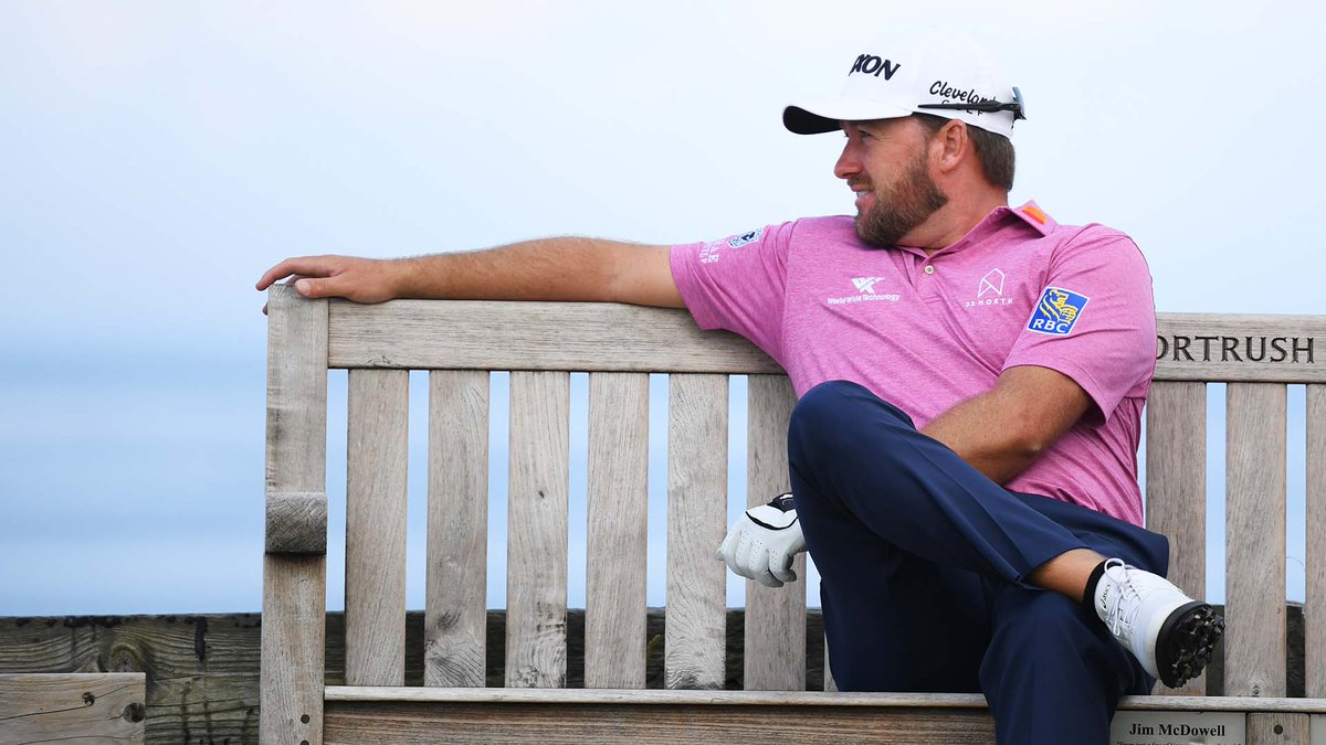 Good luck finding someone who knows Royal Portrush better than this guy! @Graeme_McDowell sits down with @miketirico tonight on Vantage Point at 9pm ET. Oh, theres an interview with a guy named Tiger too...