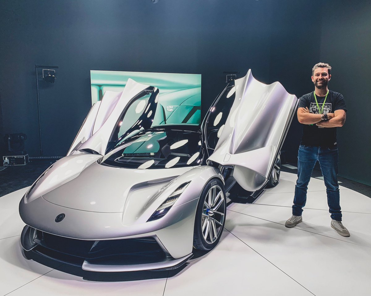 One of the most outstanding examples of automotive design I have seen in a long time! First Look video of the new Lotus Evija Hypercar now live: youtu.be/iP8y31wGfp8