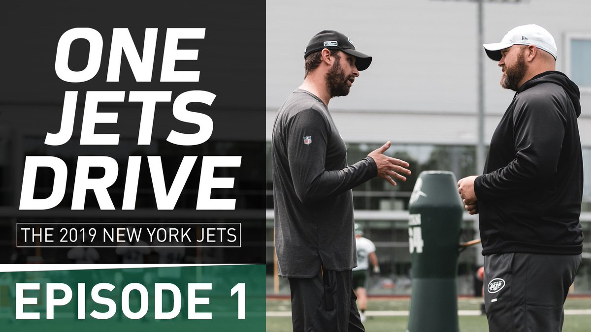 1⃣5⃣ minutes away! Join the conversation on YouTube and watch the Season 2 premiere of One Jets Drive immediately when it drops → nyj.social/2Lo1tQQ