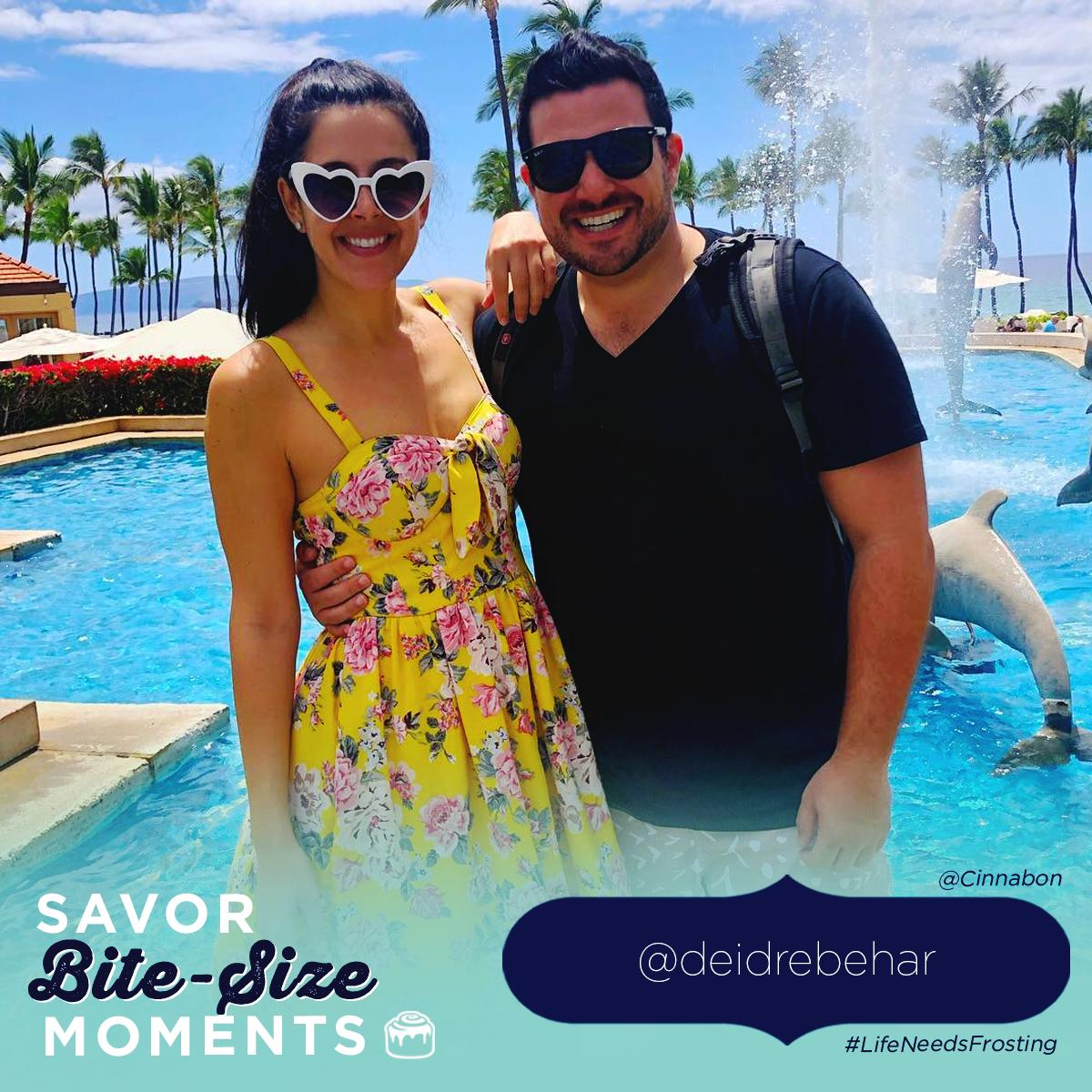 We say aloha to this moment in Maui captured by @deidrebehar. You can *almost* hear the wedding bells. #LifeNeedsFrosting<br>http://pic.twitter.com/vqQjBH28Tu
