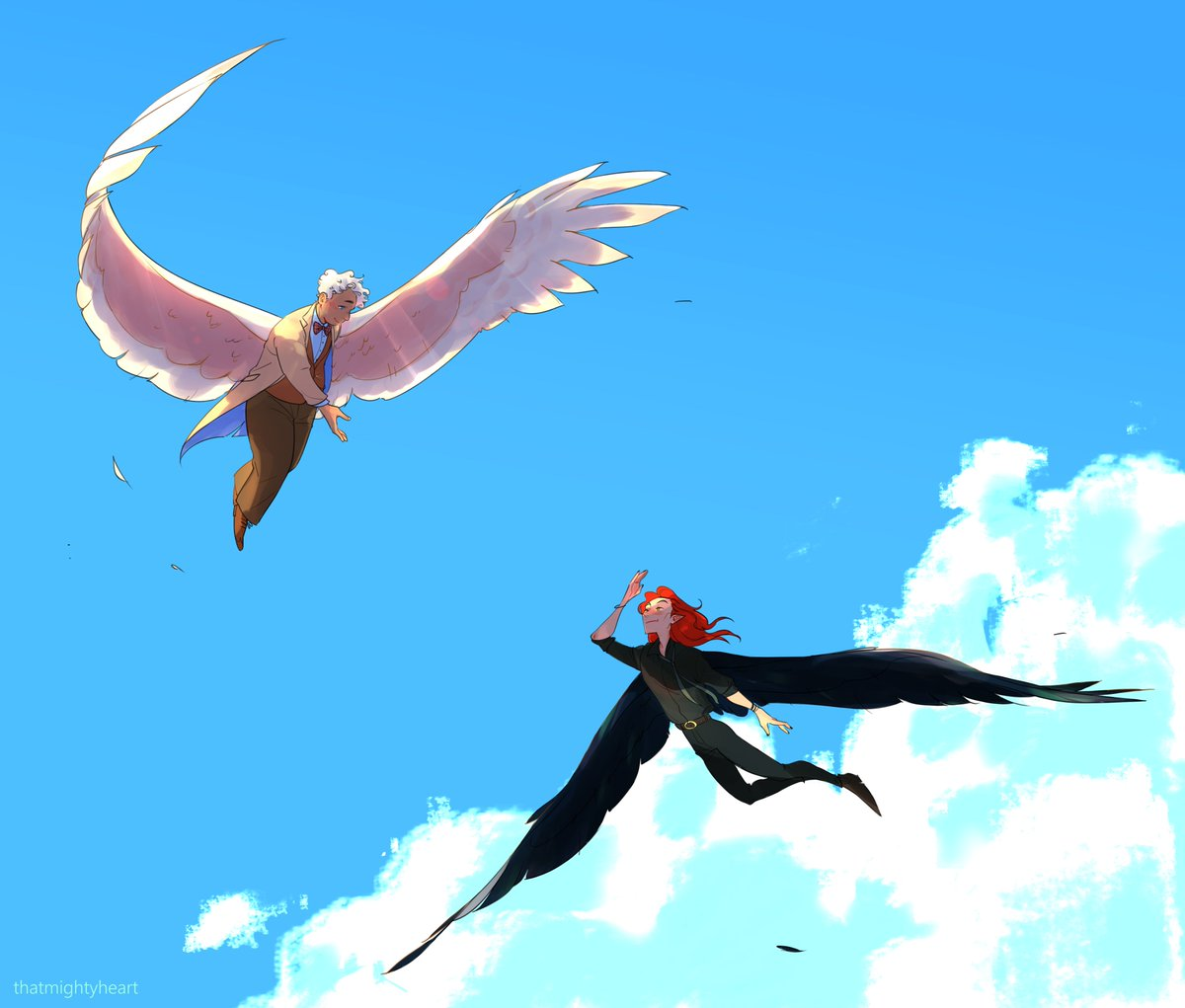 [good omens] birds of a feather <br>http://pic.twitter.com/7Qj7IfADyy