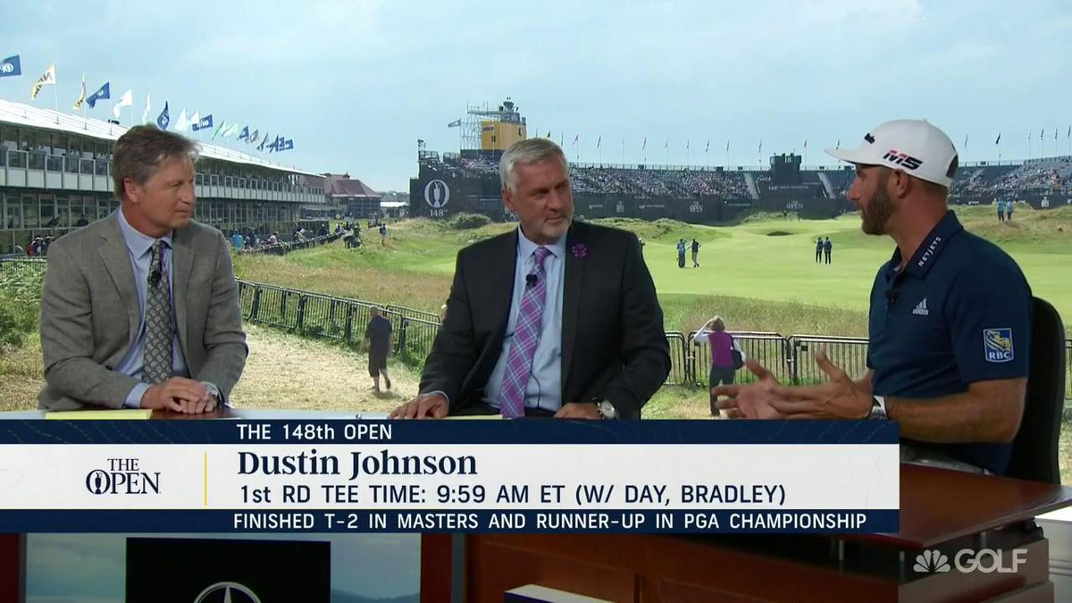 Im trying to get a job done..until then whats there to celebrate? The man himself, @DJohnsonPGA, joined us on Live From #TheOpen to share his major mindset: watchgolf.ch/iGOFh9